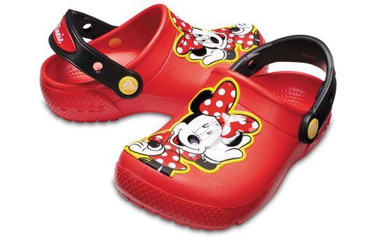 Crocs-Fun-Lab-Minnie-Clog-Rojo