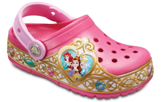 Crocband-Fun-Lab-Clog-Disney-Princess-Ligths