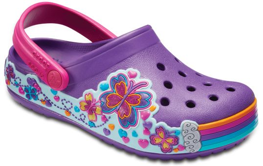 Crocband-Fun-Lab-Clog-Mariposas
