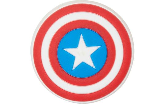 Jibbitz™-Captain-America-Shield