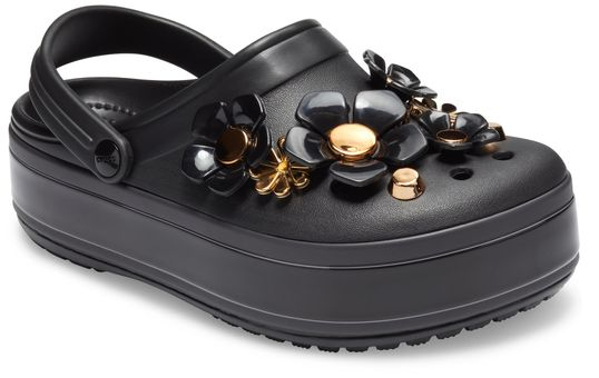 Crocband™-Platform-Metallic-Bloom-Clog