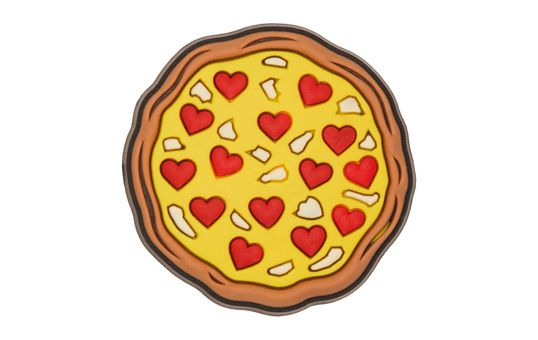 Jibbitz™-Love-Pizza